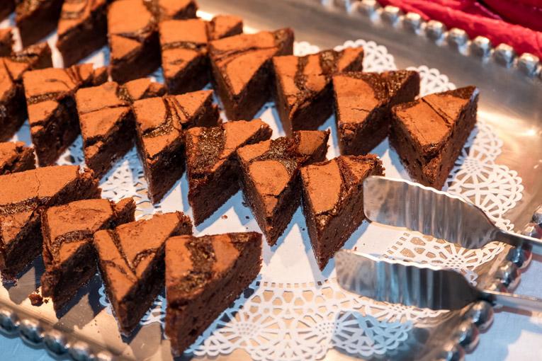 platted brownies