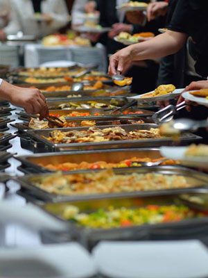 buffets for meetings